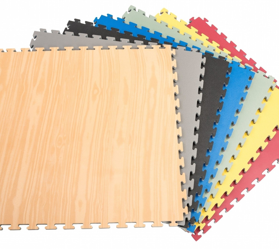Wood Design 1*1m 30mm Reversible Gym Foam Mat Squares